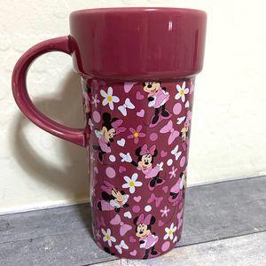 Minnie Mouse Tall Mug Disney Store 12oz